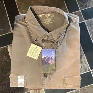 NWT Men's Khaki Shirt